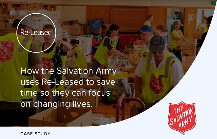 How the Salvation Army Uses Re-Leased to Save Time So They Can Focus on Changing Lives